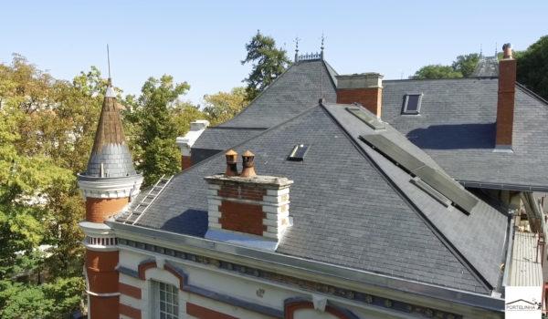 Réparation toiture en ardoise